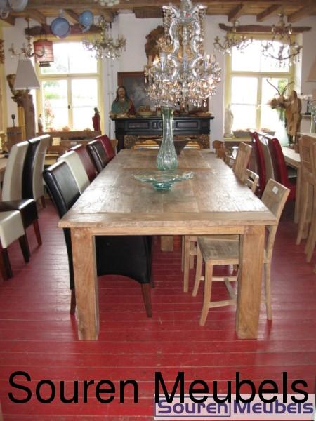 teak tisch mit st hle m belin teak m bel tische st hle und gartenm bel. Black Bedroom Furniture Sets. Home Design Ideas