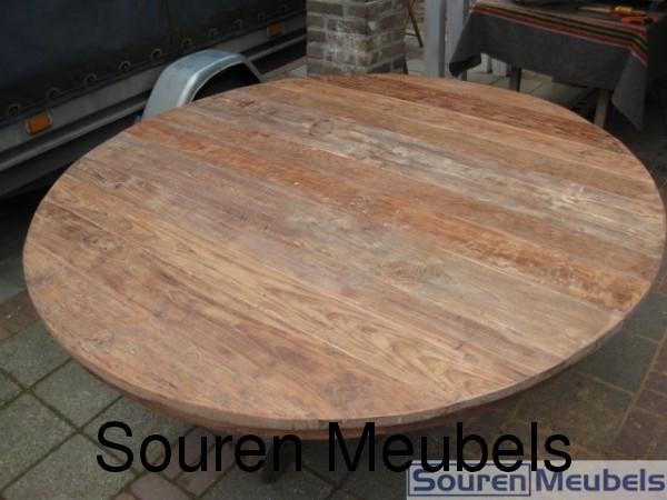 teak tisch ronde teak tische teak antikholz deckchair. Black Bedroom Furniture Sets. Home Design Ideas